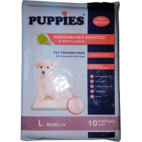 Covorase absorbante Puppies Training Pet Pad, 60 x 60 cm