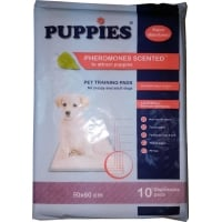 Covorase absorbante Puppies Training Pet Pad, 90 x 60 cm, 10 bucati
