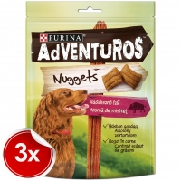 Pachet Purina Adventuros Nuggets Mistret 3x90 g