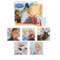 Puzzle din Lemn Brimarex, Frozen