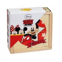 Puzzle din Lemn Brimarex, Minnie si Mickey