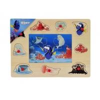 Puzzle Mozaic din Lemn cu Pins, Brimarex, Dory