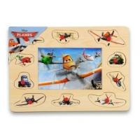 Puzzle Mozaic din Lemn cu Pins Brimarex, Planes