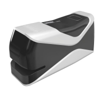 Capsator electric Rapid Fixativ Mobile 10BX, 10 coli, negru