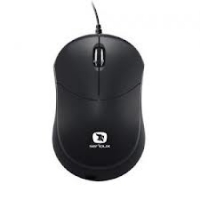 MOUSE USB SERIOUX RAINBOW 680, BLACK, RBM680-BK