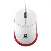 MOUSE USB SERIOUX RAINBOW 680, RED, RBM680-RD