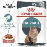 Pachet Royal Canin Hairball Care, 12 x 85 g