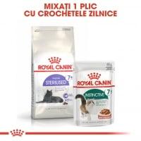 Royal Canin Instinctive 7+, bax hrană umedă pisici, (în sos), 85g x 12