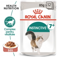 Pachet Royal Canin Instinctive 7+, 12 x 85 g