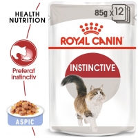Pachet Royal Canin Adult Instinctive in Jelly, 12 x 85 g