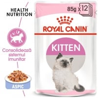 Pachet Royal Canin Kitten Instinctive in Jelly, 12x85 g