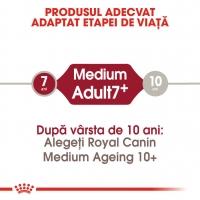 Royal Canin Medium Adult 7+, 15 kg + 3 kg Gratis