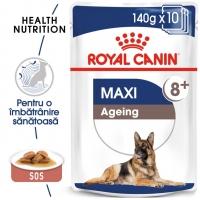 Pachet Royal Canin Maxi Ageing 8+, 10x140 g