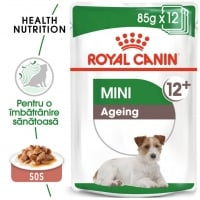 Pachet Royal Canin Mini Ageing 12+,12 x 85 g