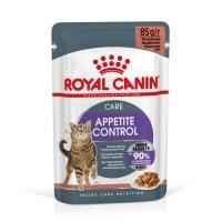 ROYAL CANIN Appetite Control Care, bax hrană umedă pisici, adult sterilizat, reglarea apetitului, (în sos), 85g x 12