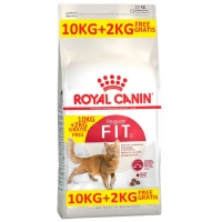 Royal Canin Fit 32, 10 kg + 2 kg GRATIS