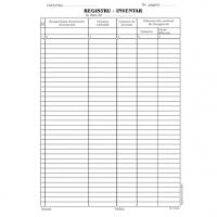 Registru inventar, A4, 100 coli/carnet