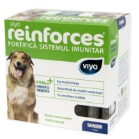 Supliment Nutritiv Viyo Reinforces Dog Senior 7 x 30 ml