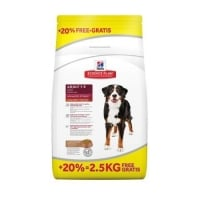 Hill's SP Canine Advanced Fitness Large Breed Adult, Miel si Orez, 12 kg + 2.5 kg GRATIS
