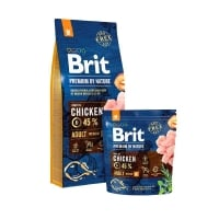 Brit Premium by Nature Adult M, Pachet Economic, 18 kg