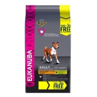 Eukanuba Adult Medium Breed 15 kg + 3 kg GRATUIT