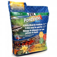 Hrana pentru pesti  JBL Pond Sticks 4 in 1, 10.5 l