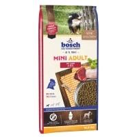 Bosch Adult Mini Miel si Orez, hrană uscată câini, 15kg+3kg GRATUIT