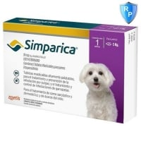 Simparica 10 mg, 2.5-5 kg, 3 tablete