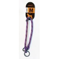 Zgarda Caine Walkit Rotund Rope M, 0.8 x 35-40 cm, Violet