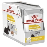 Pachet Royal Canin CCN Derma Comfort Loaf, 12 X 85 g