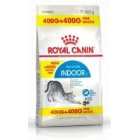 Royal Canin Indoor Cat, 400g + 400g Gratis
