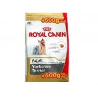 Royal Canin Yorkshire Adult, 500 g + 500 g Gratis