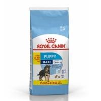 Royal Canin Maxi Puppy, 15 kg + 3 kg Gratis