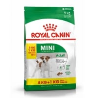 Royal Canin Mini Adult, 8 Kg + 1 Kg Gratis