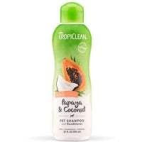 Sampon si Balsam TropiClean 2 in 1 Papaya, 355 ml