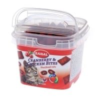 Sanal Cat cranberry and chicken bites cup 75 g