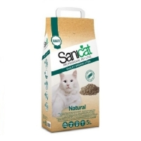 Pachet 4 x Nisip Sanicat Natural Organic, 5 L