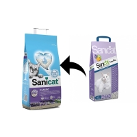 Asternut Igienic Sanicat Classic Lavender, 10 L