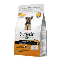 Schesir Dog Adult Small cu Pui, 800 g