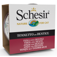 Schesir Cat Sea Specialities Conserva Ton si Dentex, 85 g