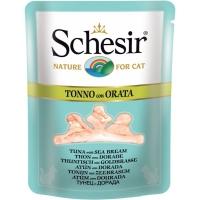Schesir Cat Plic cu Ton si Dorada in Supa, 70 g