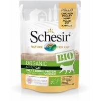 Schesr Cat Bio cu Pui, Plic 85 g