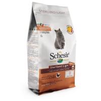 Schesir Cat Adult Light si Sterilizate cu Pui, 1,5 kg