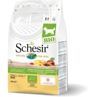 Schesir Dog Bio Adult Small Maintenance cu Pui, 600 g