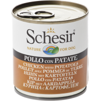 Schesir Dog Adult Pui si Cartof,  285 g