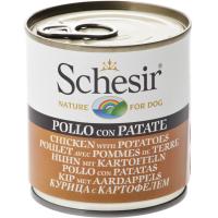 Schesir Dog Adult Pui si Cartof,  285 g