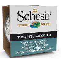 Schesir Cat Sea Specialities Conserva Ton si YellowTail, 85 g