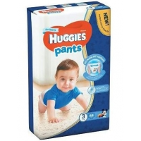 Scutece Chilotel Huggies Jumbo Pack 3, Boy, 6-11 Kg, 44 buc