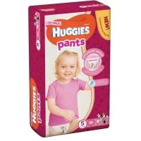 Scutece Chilotel Huggies Jumbo Pack 5, Girl, 12-17 Kg, 34 buc