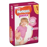 Scutece Chilotel Huggies Jumbo Pack 6, Girl, 15-25 Kg, 30 buc
